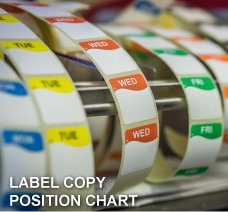 LABEL COPY POSITION CHART
